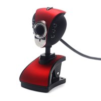 Useful USB 2.0 HD Webcam Camera Web Cam With Microphone Mic LED For PC Laptop