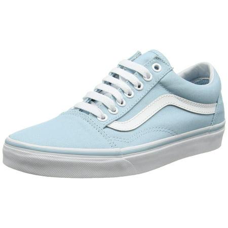 842fd6b841 Vans - Vans VN-0A38G1MQW   Unisex Old Skool 50th Skate Shoe Crystal Blue  White ( 8.5 D(M) US men  10 B(M) US Women) - Walmart.com