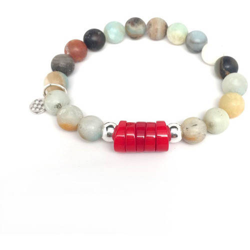 "Julieta Jewelry Green Amazonite ""Coral"" Sterling Silver Stretch Bracelet by Julieta Jewelry"