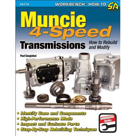 Muncie 4-Speed Transmissions: How to Rebuild &