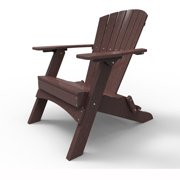Folding Adirondack Chair by Malibu Outdoor - Hyannis, Cherry