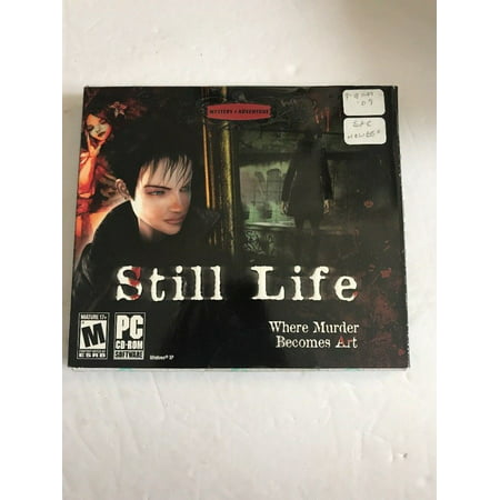 STILL LIFE - Original Microids Murder Mystery Adventure PC Game - Brand New