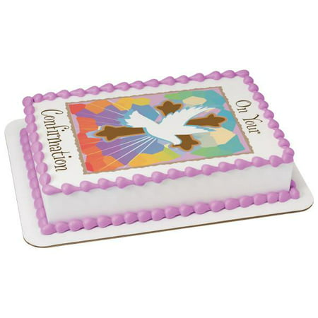On Your Confirmation Edible Cake Topper - Confirmation Cake Toppers