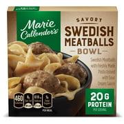 Marie Callender's Swedish Meatballs Bowl, Frozen Meals, 11.5 oz.