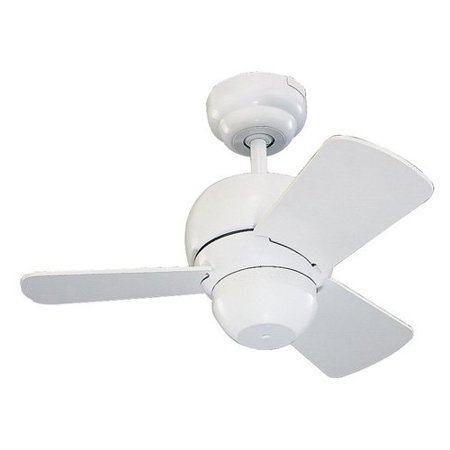 Monte carlo 3tf24wh micro 24 in indooroutdoor ceiling fan white indooroutdoor ceiling fan white aloadofball Image collections