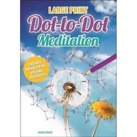 MEDITATION DOT TO DOT LARGE PRINT](Alphabet Dot To Dot)