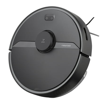 Renewed Roborock S6 Pure Robot Vacuum and Mop, Multi-Floor Mapping, Lidar Navigation, No-go Zones, Selective Room Cleaning, 2000Pa Suction Robotic Vacuum Cleaner, Wi-Fi Connected