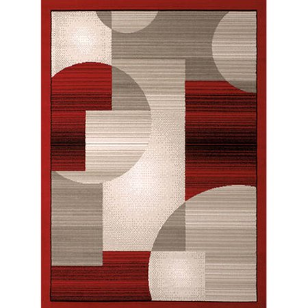 United Weavers Plaza Gisela Woven Olefin Area Rug](Kingston Plaza)