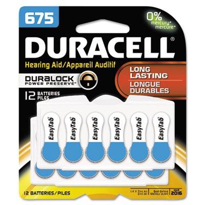 Button Cell Hearing Aid Battery DURDA675B12ZMR0