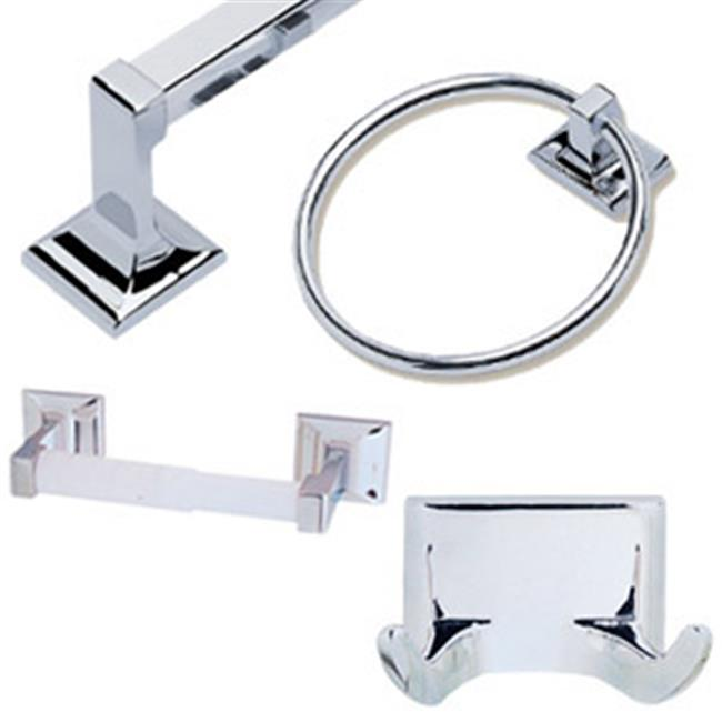 Design House 534628 Millbridge 4-Piece Bathroom Kit, Polished Chrome Finish - image 1 of 1