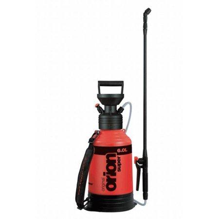 (ORION Liquid Sprayer 6 Liter Orange Compresion Lawn Greenhouse Orchards)