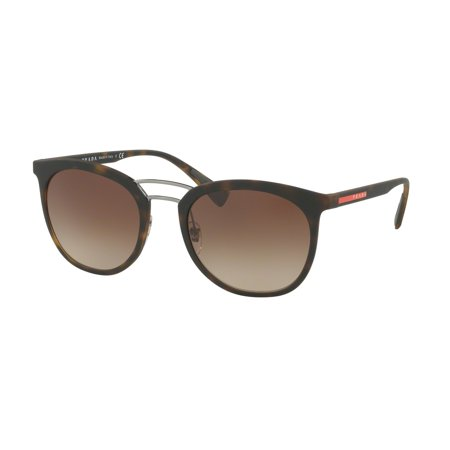 079f132b084 Prada Linea Rossa - Prada Sport 0PS 04SS Sun Full Rim Phantos Unisex  Sunglasses - Size 54 (Havana Rubber   Brown Gradient) - Walmart.com
