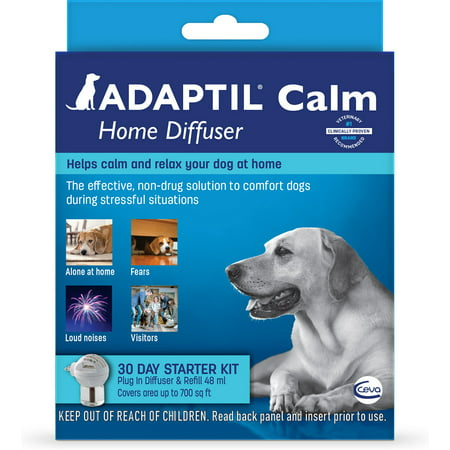 Adaptil Calm 30 Day Starter Kit Plug-In Diffuser & Refill, 48 mL