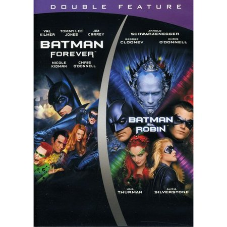 Batman Forever   Batman And Robin  Double Feature   Widescreen