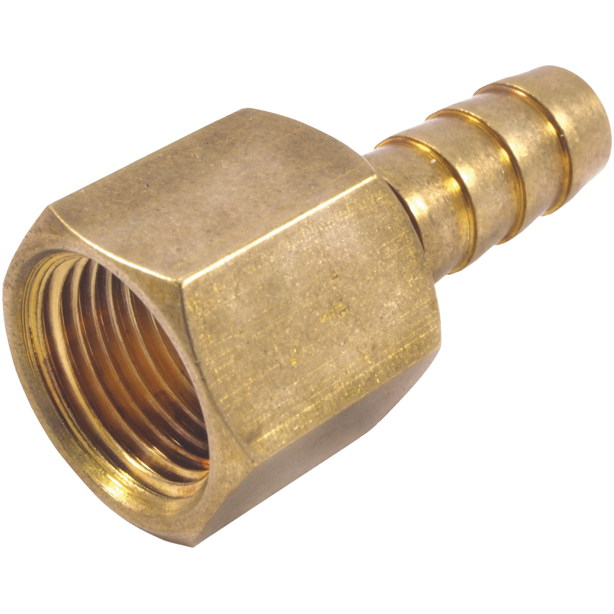 """Forney Industries 3/8"""" Brs Barbd Hose End 75530"""