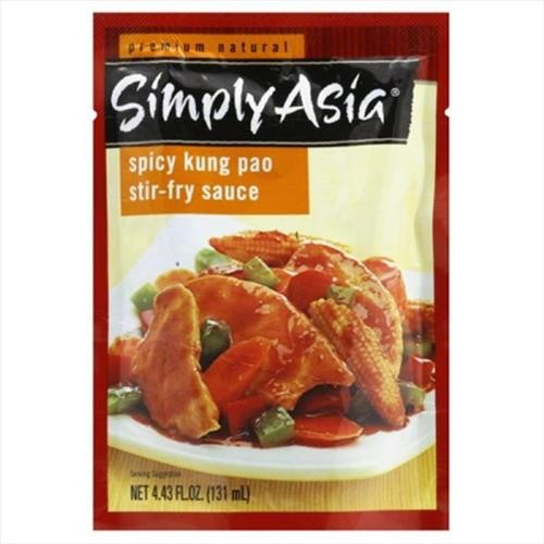 Simply Asia Kung Pao Stir Fry Sauce Packet, 4.43 Fl Oz