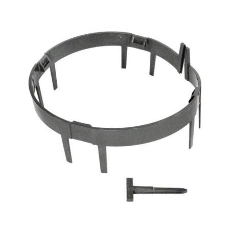 Paramount 005-670-6192-02 Debris Canister Ring Stop - Gray w/Wedges