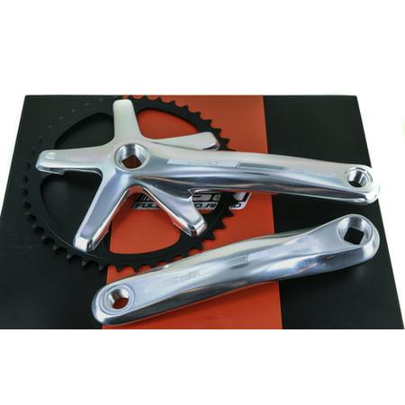 "FSA Vero Track Single Speed Fixie Bike Crankset 3/32"" 42T 175mm  623g NEW"
