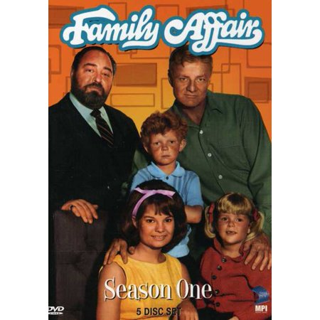Family Affair: Season 1 (1966) (Paul And Young Ron Halloween)