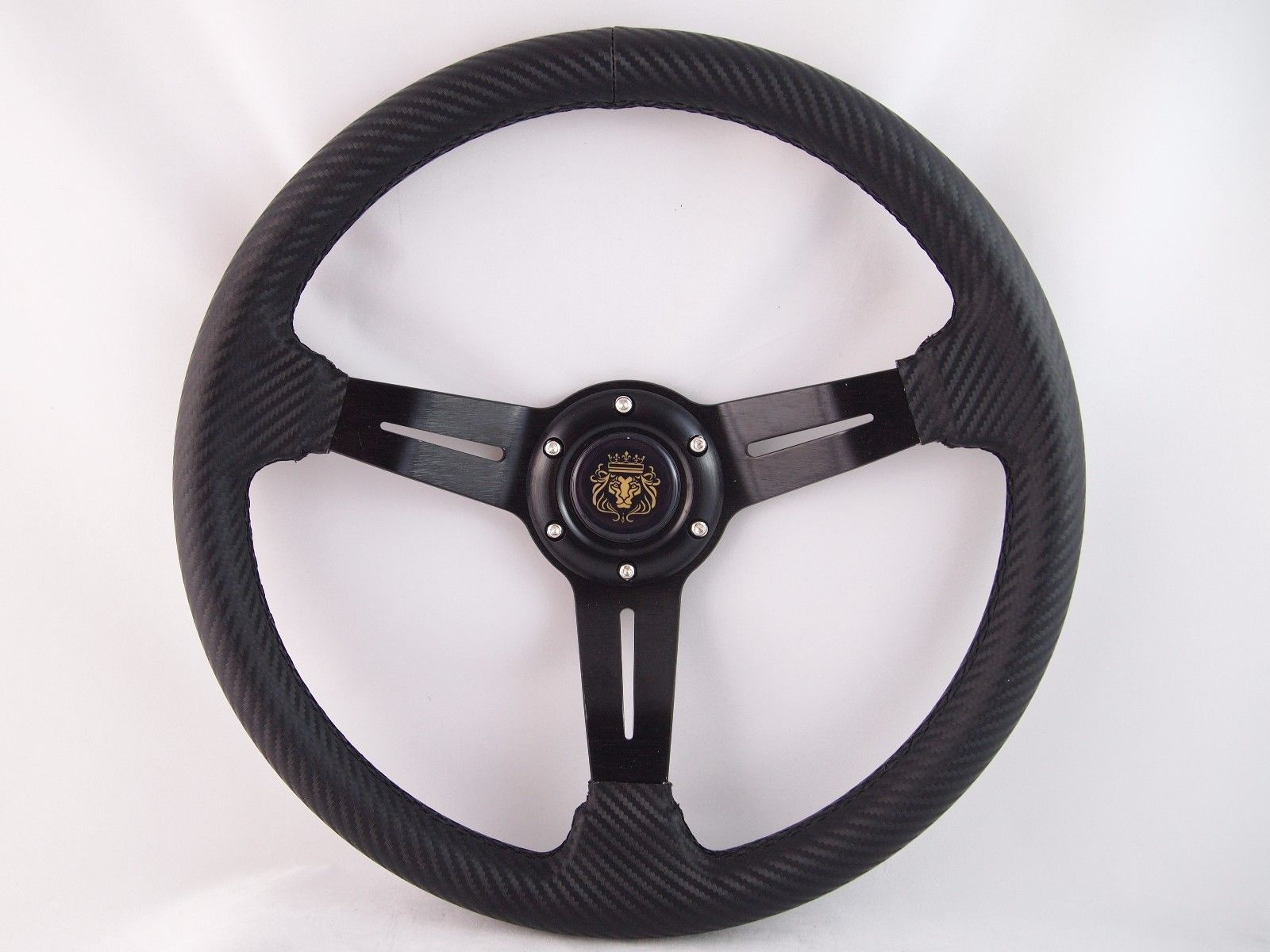 White Steering Wheel with Adapter for RZR 570 800 900 1000