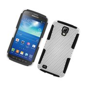 Samsung Galaxy S4 Active Case, by Insten Mesh Dual Layer [Shock Absorbing] Protection