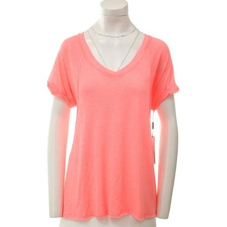 CALVIN KLEIN $39 NEW 14352 Short Sleeve Burnout Tee Womens Top S