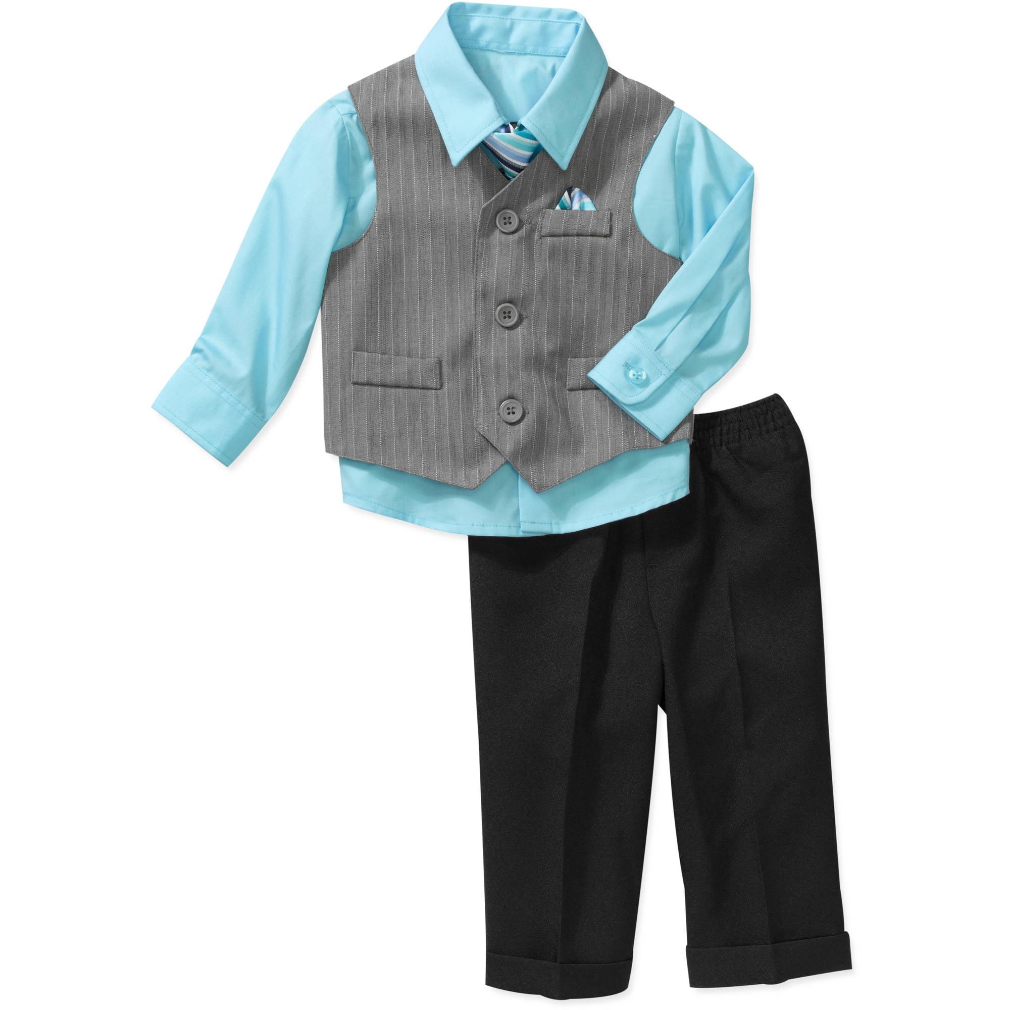 George Newborn Boys' Dress Vest Set