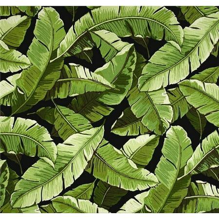 Jordan Manufacturing, Outdoor Spun Polyester Fabric by the Yard, Balmoral Noir