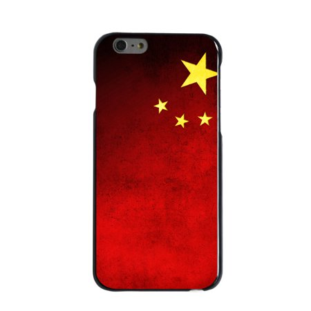 Cafe China - CUSTOM Black Hard Plastic Snap-On Case for Apple iPhone 6 / 6S (4.7