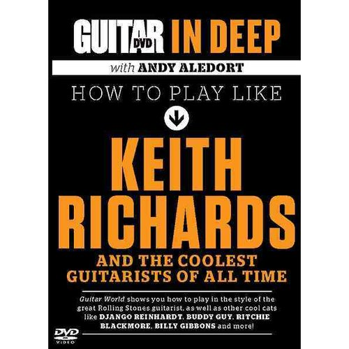 Guitar in Deep: How to Play Like Keith Richards And the Coolest Guitarists of All Time, Dvd