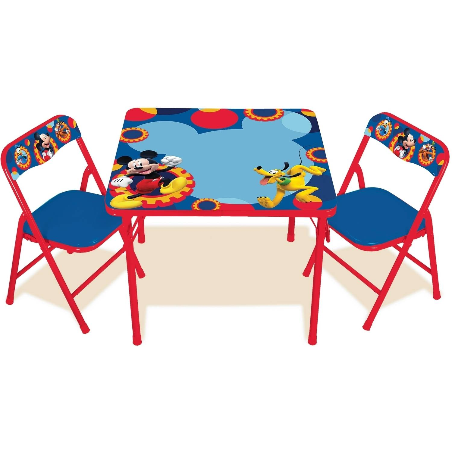 Disney Mickey Mouse Erasable Activity Table Set Walmart