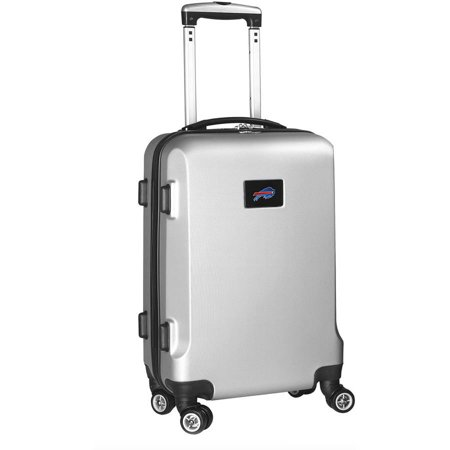 NFL Buffalo Bills Mojo Hardcase Carry On Spinner Suitcase - Silver