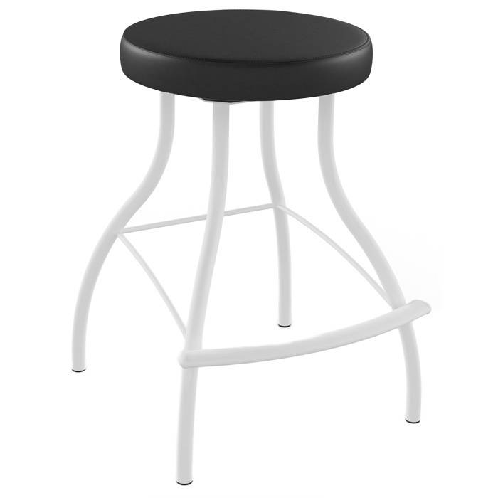 Amisco Bulb 26 Inch Metal Swivel Counter Stool Walmartcom