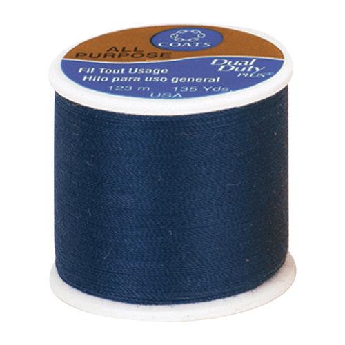 Coats & Clark All Purpose Thread, 135 yds, Blue Chip