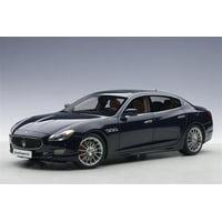 2015 Maserati Quattroporte GTS Passion Blue 1/18 Diecast Model Car by AutoArt