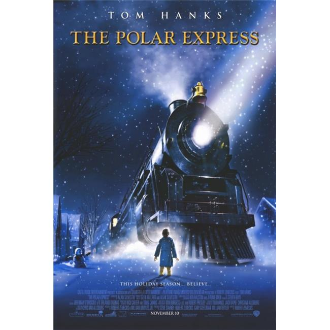 Pop Culture Graphics MOVIF3202 The Polar Express Movie Poster Print, 27 x 40 - image 1 de 1