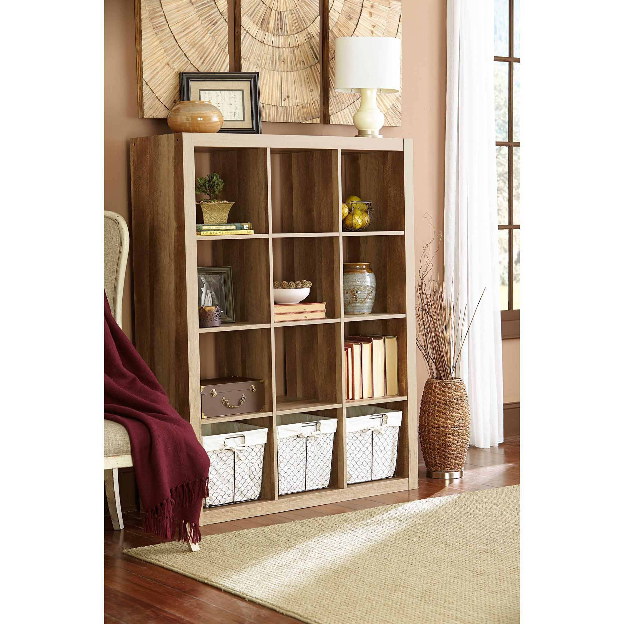 Better Homes and Gardens 12 Cube Storage Organizer Multiple Colors - Walmart.com  sc 1 st  Walmart & Better Homes and Gardens 12 Cube Storage Organizer Multiple Colors ...