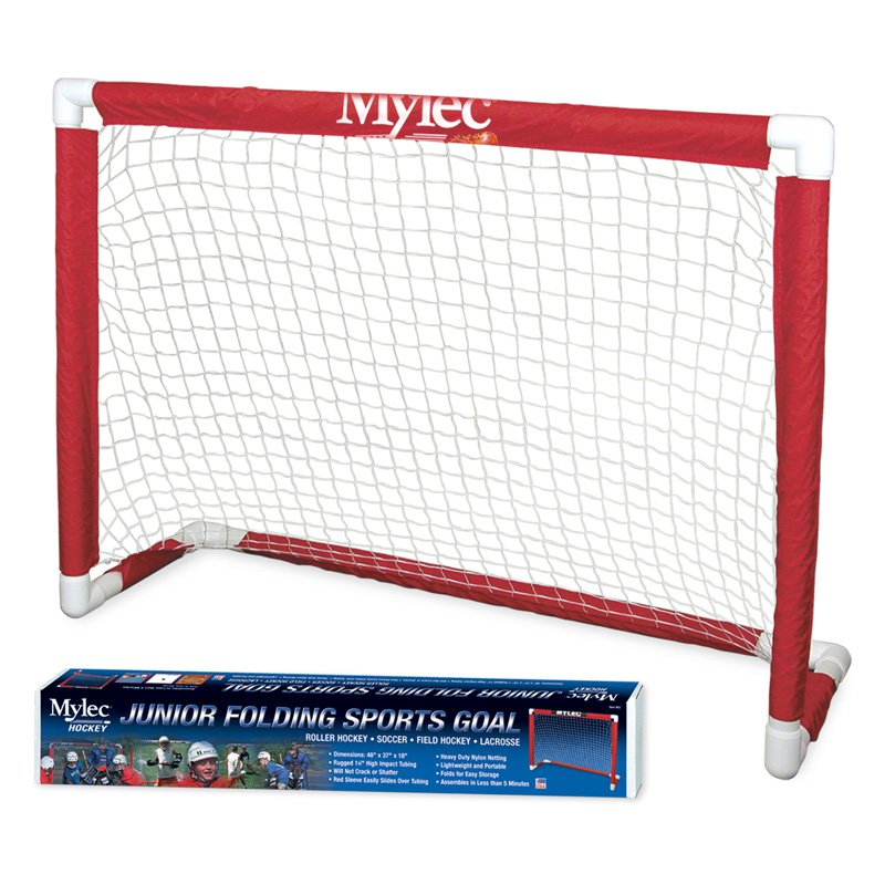 Mylec Junior Folding Sports Hockey Goal by Mylec Inc