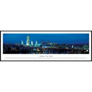 Albany, New York - Blakeway Panoramas Print with Standard Frame