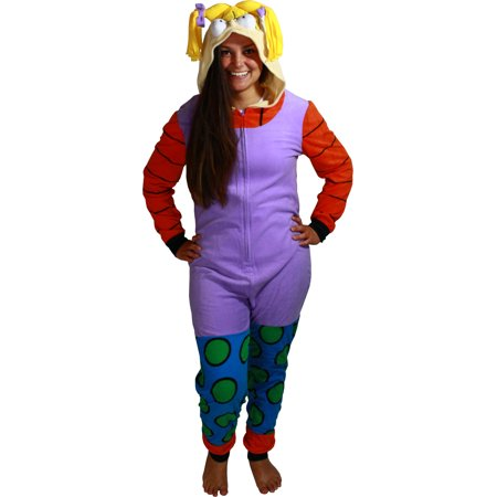 Rugrats Angelica Women's Cosplay Union Suit](Rugrats Costumes)
