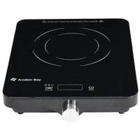 Product Image Avalon Bay Electric Portable Ceramic Deluxe Countertop Induction Cooktop Burner