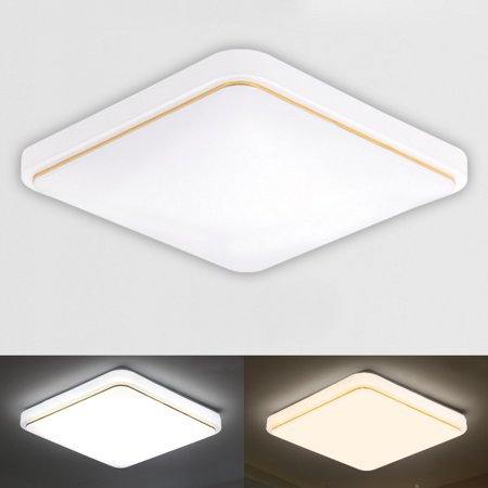 12/18W Modern LED Square Ceiling Down Light Flush Mount Light Home Bedroom Kitchen Lamp Mounted Home Fixture Lamp - image 2 of 7