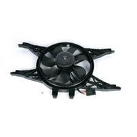 AC Delco 15-80909 Cooling Fan Assembly For Chevrolet SSR, Single fan