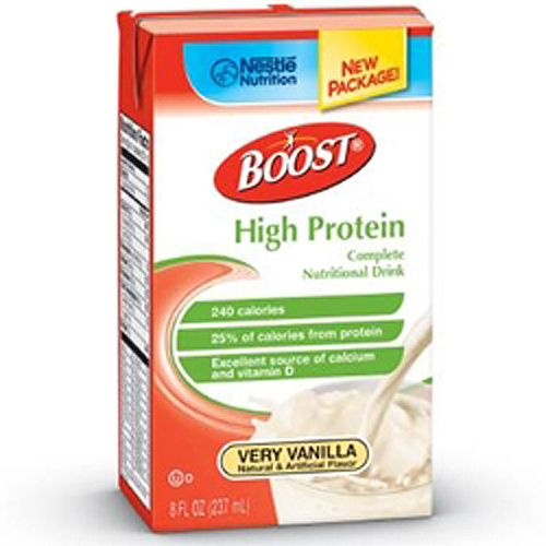 Boost High Protein 240 Cal 8 oz Vanilla, 27 Count, 2 Pack