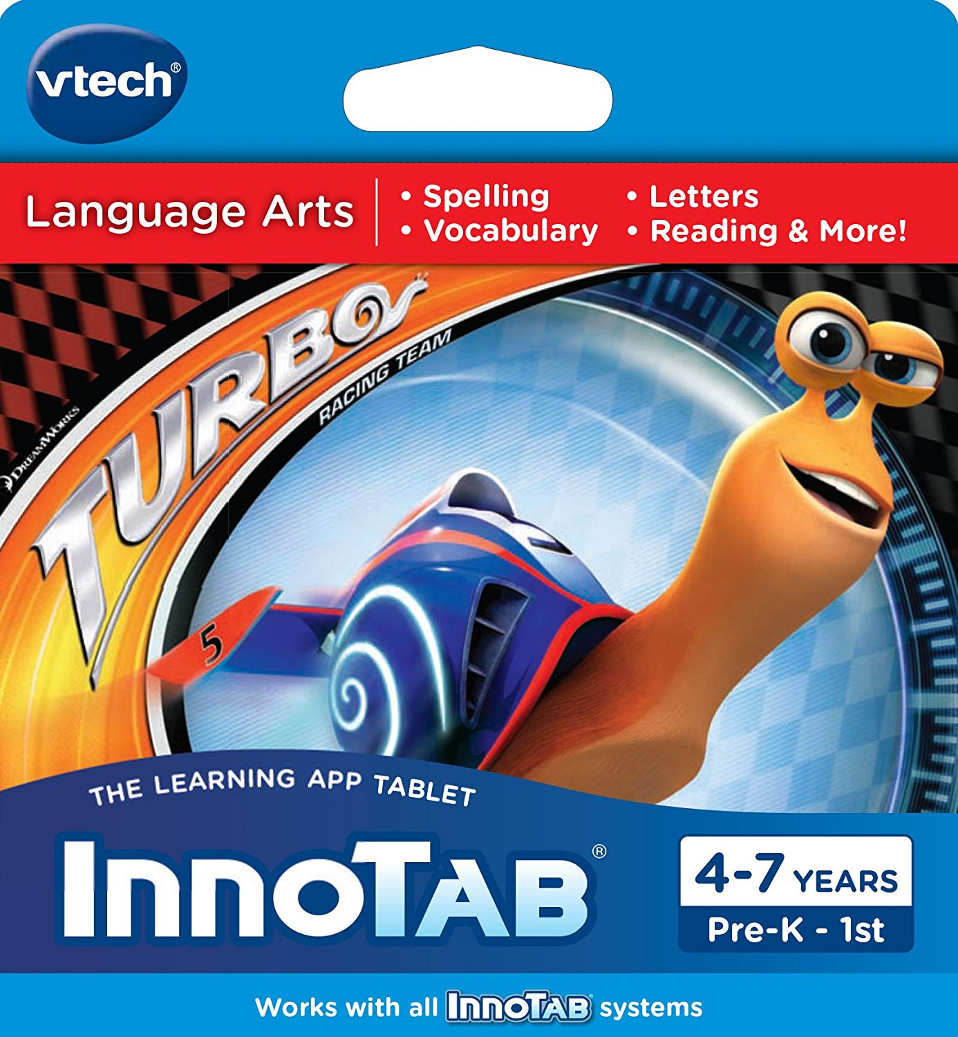 InnoTab Software Turbo, Join Turbo in seven different adventures By VTech by