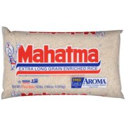 Mahatma Enriched Extra Long Grain White Rice 10 lb Bag