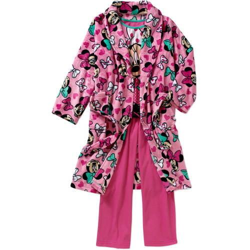 Girls' Licensed 3-Piece Robe Set