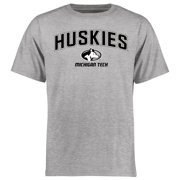 Michigan Tech Huskies Proud Mascot T-Shirt - Ash