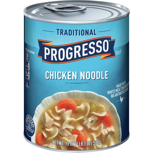 Progresso Soup Traditional Chicken Noodle Soup 19 oz Can