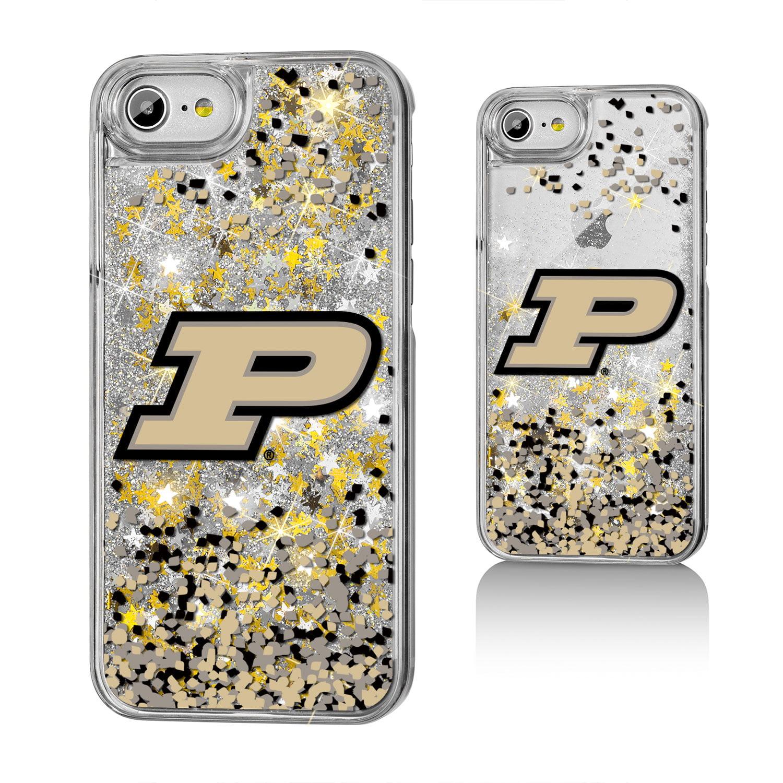 Purdue Boilermakers Confetti Glitter Case for iPhone 8 / 7 / 6